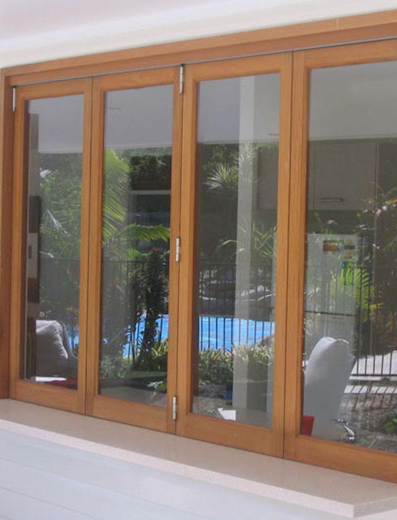 Eden Made Bifold Timber Windows With Shelf2 Eden Made